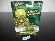 HOT WHEELS CREATURE FROM THE BLACK LAGOON LOW FLOW X348 UNIVERSAL MONSTERS A2-7