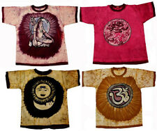 Apparels India 25pcs Cotton God and Goddess USA Tees Batik T-shirt Wholesale Lot