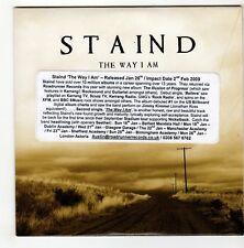 (GO500) Staind, The Way I Am - 2009 DJ CD