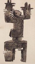JULIO GONZALEZ mounted pochoir print, Berggruen 1957, Jacomet Picasso interest 2