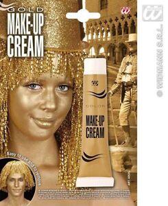 Widmann Carnevale Halloween Make Up Oro Gold art. 4052G