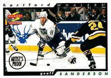 1996-97 Score Artists Proofs #119 Geoff Sanderson