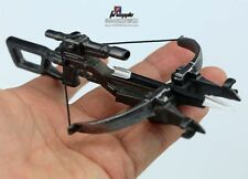 "1:6 Scale Weapon Model Plastic Black Crossbow+Arrow For 12"" Action Figure"