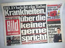 Bildzeitung 17.02.2011 - die Geschenkidee * St. Pauli - HSV 1:0 * Guttenberg
