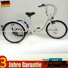 """3Rad Dreirad für Erwachsene 24"""" 6 Gänge Erwachsenendreirad Fahrräder Fahrrad DHL"""
