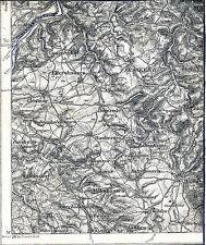 Frankenau Haina Geismar 1911 orig. Teilkarte/Ln. Grüsen Dainrode Löhlbach Sehlen