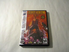 Duke Nukem 3D CUSTOM SEGA SATURN CASE (NO GAME)