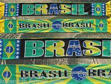 "Brasilien Schal ""BRASIL"" 2 Selecao WM 2014 Fan Ordem e Progresso +neu+100%Acryl+"