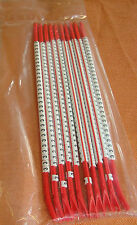 """10 Stäbe Kabelmarkierer rot Zahl """" 3 """" Markierungsringe zum Aufschnappen 4096"""
