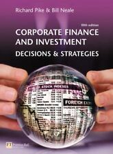 Corporate Finance and Investment: Decisions and Strategies(paperback),Prof Rich