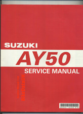 Suzuki AY50 Katana (1997-2003) Factory Shop Manual Repair Book AY 50 W WS CH44