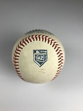2018 Arizona Spring Training Game Used Baseball