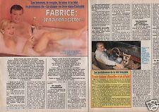 Coupure de presse Clipping 1990 Fabrice  la Classe   (2 pages)