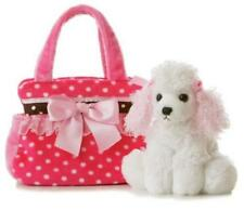 Kids Dog Pet Carrier Play Set Puppy Toy Girl Gift Toddler Pretend Plush NEW