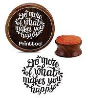 Machen Sie Mehr What Makes You Happy Holz Stempel Scrapbooking Briefmarken