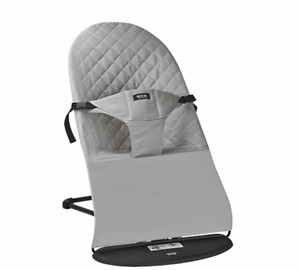 Baby Bouncer Balance Soft Bouncer Brand New with Extra  Cotton Mesh Premium Grey