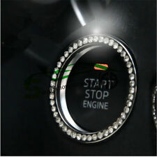 Car One-Key Engine Start Stop Ignition Push Button Diamond Ring for BMW Benz