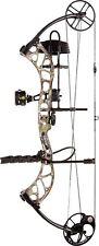 New Bear Archery Wild RTH 70# RH Bow Package Sand w/ Arrows & Release