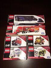 Disney Cars Tomica Minis Set Of 6