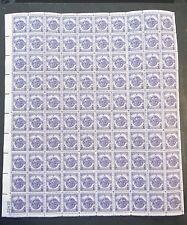 US Stamps Scott #940 Veterans of World War II 1946 MNH 3c Full Sheet OG