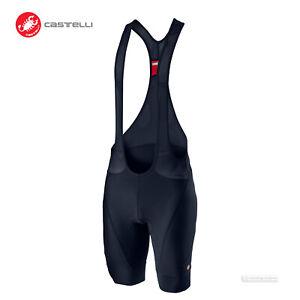 NEW 2021 Castelli ENDURANCE 3 Cycling Bib Shorts : SAVILE BLUE