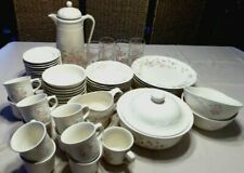 Pfaltzgraff Tea Rose Dinnerware 75-Pc Set Including Serving Pieces
