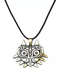 "Legend of Zelda Majora's Mask Necklace Metal 2"" Bronze US Seller"
