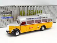 NZG 1/40 - Mercedes Omnibus O3500 Autobus Car Pullman Poste Suisse