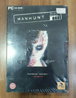 MANHUNT PC CD-Rom deluxe edition boxed factory sealed 2004
