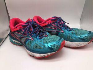 Brooks Ravenna 6 Running Sneakers Size 7.5 B women's Blue Pink 1201821B497