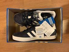adidas Originals Gazelle J Junior Kids Sneakers, Dark Blue, Size 4.5