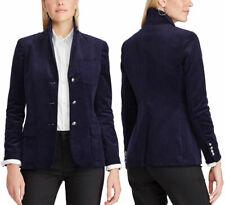 Chaps by Ralph Lauren Blue Corduroy Blazer Suit Jacket - Women's 4 - New w/Tags!