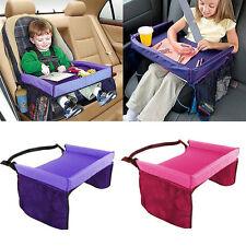 Wasserdicht Kinder Spieltisch Auto Kindersitze Autositz Reisetisch Esstisch Lila
