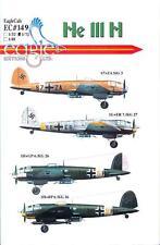 EagleCals Decals 1/72 HEINKEL He-111H German WWII Bomber