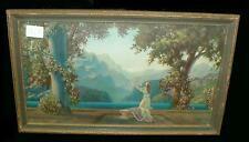 "R. Attkinson fox print by L.E.P. Chicago. ""Dawn"". Frame is 19.5"" x 11.... Lot 30"