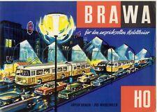 catlogo BRAWA EHEIM 1964/65 Trolleybus Signale Lampen Folder  D   aa