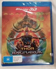 Thor - Ragnarok 3D Only (Blu-ray, 2018) Brand New and Sealed