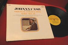 JOHNNY CASH LP VOLUME II ORIG USA 1969 EX SUN RECORD SUN 101