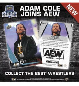 Pre-Order Brand New Upper Deck E Adam Cole 2021 AEW Preview Card #PP-1 All Elite