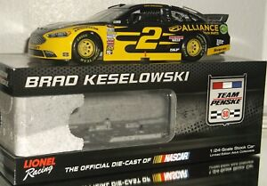 2016 BRAD KESELOWSKI #2 ALLIANCE TRUCK PARTS COLOR CHROME 1/24 CAR#33/72 AWESOME