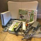 Wii Console & Balance Board Bundle || Wii Fit & Plus Wii Coach 1 Controllers Lot