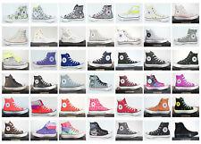 Neu All Star Converse Chucks Hi Leinen+ Leder Damen Schuhe Sneaker viele Modelle