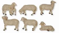 Crèches personnages chèvres troupeau chèvre debout pour personnages 11-13 cm