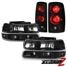 "00 01 02 03 04 05 06 Tahoe LT Parking Headlamp Signal Tail Lamp ""Attitude Black"""