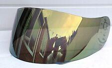 Aftermarket Lazer Fibra Pro Oro Espejo Visera Escudo