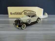 Brooklin BRK6 - Packard Light 8 Coupe - brown/creme - 1932