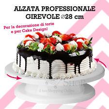 ALZA TORTA ALZATA GIREVOLE per PASTICCERIA CAKE DESIGN PASTA DI ZUCCHERO CUCINA