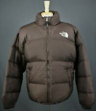 The North Face Vintage Nupste Down Insulated Puffer Jacket Brown Mens XL