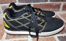 Fox Racing Black/Yellow Lightweight Sport Skateboard Shoes - Men's Size 9