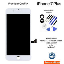 NEW iPhone 7 Plus Retina LCD & Digitiser Touch Screen Replacement AAA - WHITE